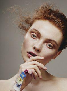 Modern beauty Georgie Hobday for Hunger Magazine