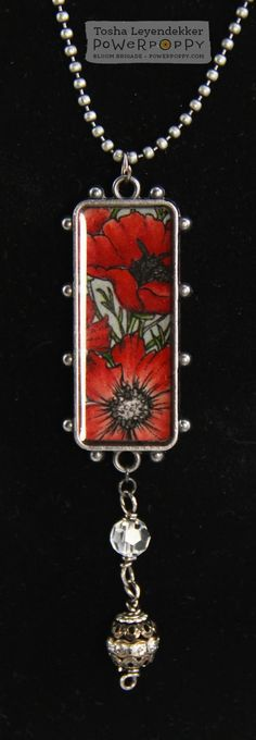Stamp Talk with Tosh: Power Poppy July Release Hop!  Uses Countryside Bouquet stamp set, Jewelry design by Tosha Leyendekker!