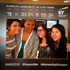 Celebrating Last weekend's International Women's Day @ #EY w some fabulous females! #itspossible #IWD2015 #WomenFastForward  @sccevent
