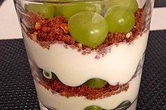 Dessert mit Weintrauben 1