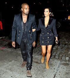 Kim and Kanye heading to Soho House New York in Manhattan, NY - 06/11/2014