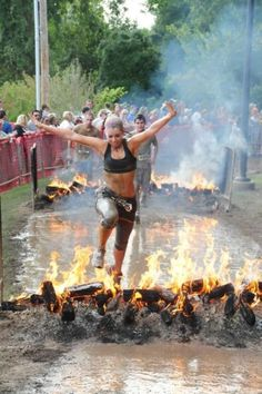 Tough mudder: would love to do this race!