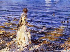 JOHN SINGER SARGENT, Girl Fishing