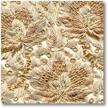 Zardosi - This is the very old art form of India. Its existence is from the mughal period. In this kind of embroidery gold and silver threads is been used to make the motifs and patterns. This thread is known as zari or kasab.