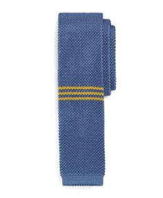 Brooks Brothers Red Fleece Collection   Placed triple stripe knit tie $79.50