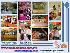 llevamos a tu domicilio, servicio de Bar, servicio de cafe, barra de cervezas, barra de martinis, coctelerìa , barra de margaritas y barras de hidrataciòn .  llevamos a todos los eventos en Df, Estado de Mèxico y Morelos