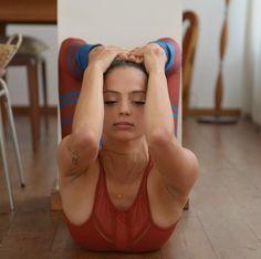 @talia_sutra in the #AloYoga Half Moon Bra #yoga #inspiration
