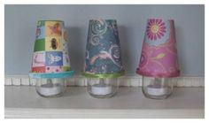 DIY Baby Food Jar Nursery Night Lights