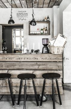 © Paulina Arcklin | HÖST restaurant in Copenhagen. A lovely and modern industrial design idea.