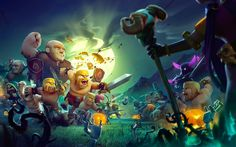 Clash of Clans is amazing combat android strategy game. Clash of Clans android strategy game latest version is available in the market. Clash of Clans Clash Of Clans Android, Clash Of Clans Cheat, Clash Of Clans Game, Coc Update, Clash Club, Clan Games, Point Hacks, Private Server, Free Gems