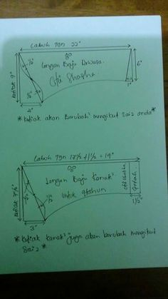 Pola lengan knk2 n dewasa by ctie shasha