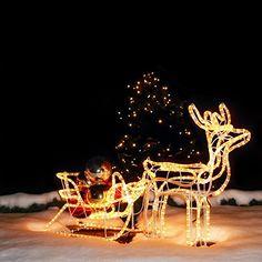 Nur 39€ !!! LED Rentier mit Schlitten 11 Meter Lichtschlauch für inne... https://www.amazon.de/dp/B00MBDVR7Y/ref=cm_sw_r_pi_dp_x_pT6fyb1E7SAD5