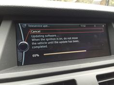 """""""Stopped at the roadside for a #software update. Sigh."""""""