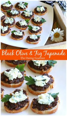 fig tapenade with roquefort black olive fig tapenade with blue cheese ...