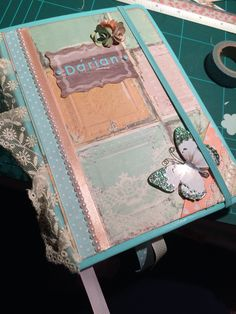 #Daily #Scrapbook #Gift #Handemade #Romantic #Vintage #SeaWater #butterfly