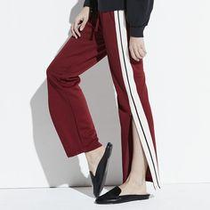 k/lab Track Pants, Girl's, Size: Medium, Dark Red