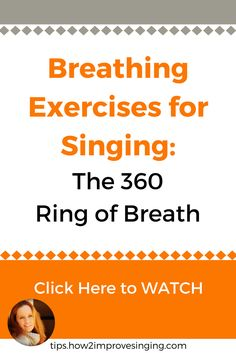 Click here to watch a video with breathing exercises for singers. Learn how to inhale efficiently for a powerful sound: https://youtu.be/bRE3umgjvkM