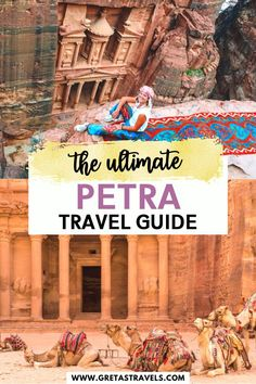 The Ultimate Petra Jordan Travel Guide - - Planning a visit to Petra in Jordan? Read these 20 top tips first. You will discover all the essential things you need to know before visiting Petra. Wanderlust Travel, Asia Travel, Egypt Travel, Best Places To Travel, Cool Places To Visit, Petra Tours, Sharm El Sheikh Egypt, City Of Petra, Jordan Travel