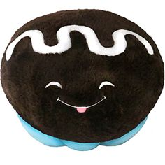 Squishable Chocolate Cupcake! Fudgy and cuddly! #squishable #plush #new