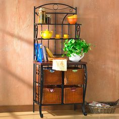 You'll love the Hillery Storage 3 Drawer Baker's Rack at Wayfair - Great Deals on all Furniture products with Free Shipping on most stuff, even the big stuff.