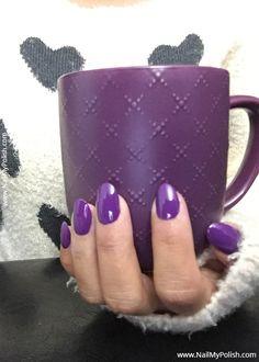 Purple Nail Polish, Body Piercings, Sally Hansen, Swatch, Nail Art, Claws, Nails, Check, Green