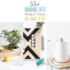 If you are looking for some incredible and gorgeous handmade gifts to make for your family and friends check out these.gifts that Family and Friends WANT! Handmade Gifts For Friends, Easy Handmade Gifts, Diy Gifts For Kids, Diy Holiday Gifts, Handmade Christmas Gifts, Gifts For Family, Christmas Diy, Homemade Christmas, Family Christmas