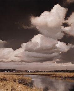 "Renato Muccillo ~ ""August Skies"" - Study ~ Oil on Panel"