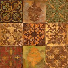Back Splash Accent Tiles - mediterranean - kitchen tile - austin - Connie's Custom Creations
