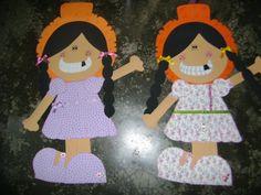 meninas caipiras