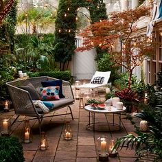 The Happiness of Having Yard Patios – Outdoor Patio Decor Outdoor Sofa, Outdoor Living, Outdoor Decor, Outdoor Patios, Outdoor Rooms, Terrasse Design, Patio Pergola, Patio Awnings, Small Pergola