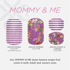 Jamberry Nail Wraps Mommy and Me Designs nlang.jamberrynails.net nlangjn@gmail.com