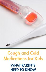 Advice from a pediatric pharmacist on over-the-counter cough and cold meds for children