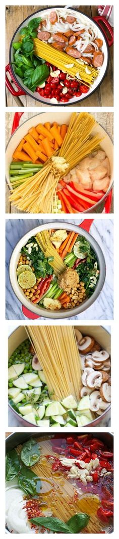 5 One Pot Dinners Your Family Will Love one pot dinner, one pot recipes #recipe