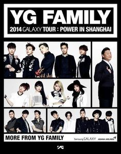 YG Family concert in Shanghai!