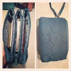 our new Vary You Wristlet!  Best part is the cell phone compartment!  #thirtyone