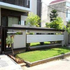 boundary wall with grill - Google Search