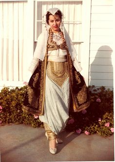 Albanian costume.  Veshje kombetare Shqiptare. I want something similar when I get married.