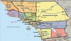 13 Best California Regions Counties Images California Regions