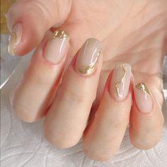 Bridal Nails Designs, Nail Art Designs, Stylish Nails, Trendy Nails, Love Nails, My Nails, Nail Salon Design, Nail Design Video, Spring Nail Colors