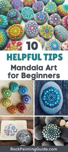 Stone Art Painting, Dot Art Painting, Mandala Painting, Dot Painting On Rocks, Mandala Drawing, Rock Painting Patterns, Rock Painting Designs, Paint Designs, Mandala Painted Rocks