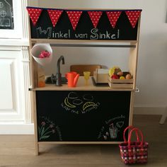 Ikea DUKTIG keukentje en winkel samen!!