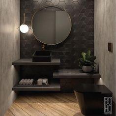 Which mirror to choose for my bathroom? Bathroom Interior Design, Modern Interior Design, Home Design Plans, Minimalist Interior, Modern Room, Beautiful Bathrooms, Cozy House, Decoration, Room Decor