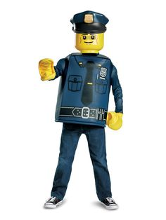 with silver badge print Lego Bobby Police Constable Hat Black New