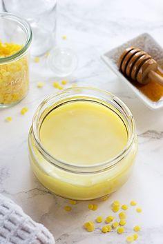 Rich Honey Hand Balm for Super Dry Hands | http://helloglow.co/rich-honey-hand-balm/