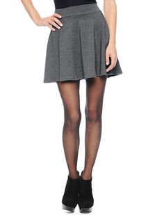 Splendid Official Store, Circle Skirt, charcoal, Womens : Bottoms : Skirts, SS8086C