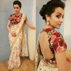 Trisha Krishnan wearing Varun Bahl
