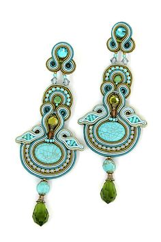 Turquoise earrings I looooove!
