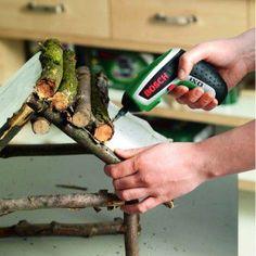 Make aviary from Astwerk Homemade Bird Houses, Bird Houses Diy, Fairy Houses, Bird House Feeder, Bird Feeders, Bug Hotel, Bois Diy, Bird Boxes, Garden Crafts