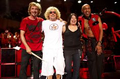 Sammy Hagar & The Wabos Private Summer Concert at Nationwide Area in Columbus, Ohio Van Hagar, Red Rocker, Sammy Hagar, My People, Music Lovers, Rock Music, Concerts, Rock And Roll, All Things