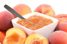 Peachy Orange Jam Peachy Orange Jam Serve this homemade jam at your Sunday brunch as a perfectly sophisticated spread for biscuits and breads. Jam Recipes, Canning Recipes, Greek Recipes, Greek Desserts, Canning Jars, Recipies, Orange Jam, Peach Jam, Fruit Preserves